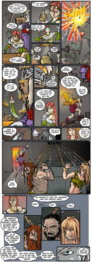Thunderstruck Comic 695 - Trophies