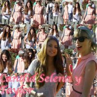 Candid Selena y Taylor by Anaeditions200