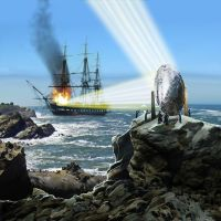 Archimedes death ray by Starcat42