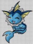 Vaporeon by Nerii-chan