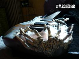 Giger's guitar Troides by Mymakao