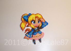 Little girl - perler bead by AngelLale87