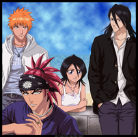 - Bleach group Vector - by x-Origin-x