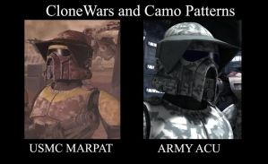 Clone Wars and Camo Patterns by Ghost141