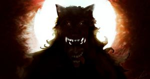 Crazy man wolf by panchosky