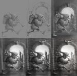 Apple Vendor - Drawing sequence by JoseAlvesSilva