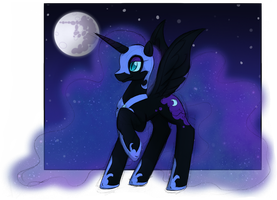 Nightmare Moon by FankaKM
