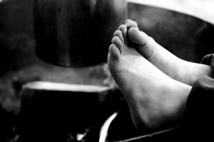 Warming the Toes by Colin-LOCP