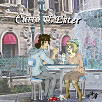 Curro and Ester 1st prize by Irukasdove
