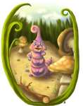 Caterpiller by PinkFireFly