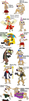 All The Alfs! *Warning Large FIle* by MyuuTheMew