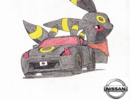 Nissan 370Z Umbreon Edition by Sir-Genesis