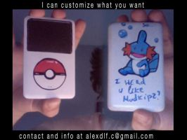 my ipod mudkip by shugo-89