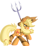 Applejack The Warrior by RatchetHuN
