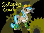Galloping Gears OC by Wolfywingedwolf
