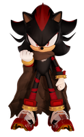 Shadow The Hedgehog (Boom Fan Design 2) by FinnAkira