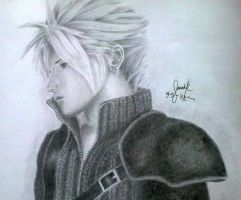 Cloud Strife by SarahUsagi-chan