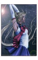 Sailor Moon Realistic Colouring by AngelinaBenedetti