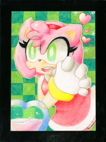 Sonic Project: Amyrose06 by Kipinkachu