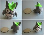 Clay Totoro Collage by BethyLuv215