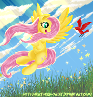 Fluttershy - Gold by AC-whiteraven