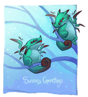 Seasons Greetings by Aazure-Dragon