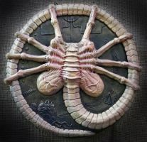 ALIEN FACE-HUGGER Sculpture by Mixta110