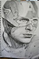 Captain America by ElocinImages