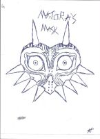 Majora's Mask drawing ._. by TheMask02