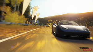 458 Leaves (Forza Horizon) by No121Else