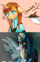 .My Frozen Pony: Tsundere 'n Yandere. by Kikuri-Tan
