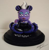 Vinylmation 3'' Ursula Custom by StephanieCassataArt