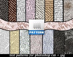 Text Patterns by roula33