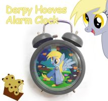 Derpy Hooves Alarm Clock by SN3AKYfox
