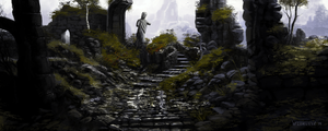 Sketch: Ruins #2 by woutart