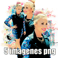 Pack png  06 Demi LOovato by MichelyResources
