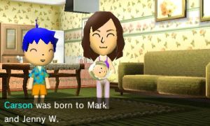 Mark and Jenny W's baby is born by GWizard777