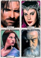 Random LOTR Sketch Cards 1.0 by RandySiplon