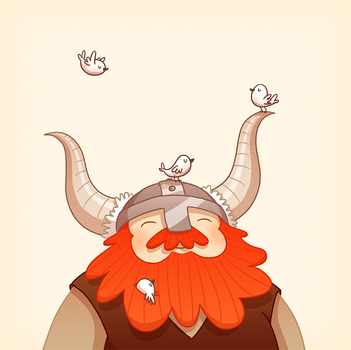 Happy Viking by AnnekaTran