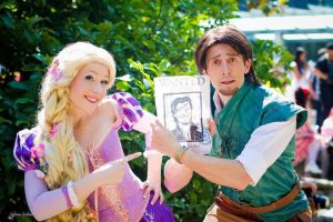 Rapunzel and Flynn by NikitaCosplay