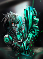 Neon Soldier by ChoFerry
