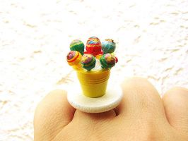 Lollipop Party Ring by souzoucreations