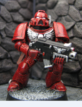 Space Marine WH40K by DrDoSoLittle