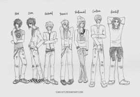 The Lineup by cian1675