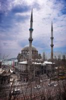 Nusretiye mosque overview by bensalamin