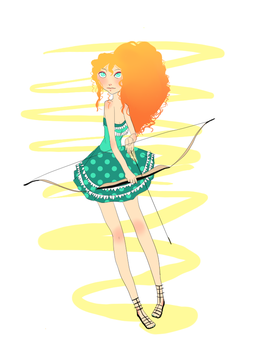 Merida by owl-face