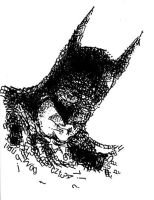 Batman in letters by theRedRage