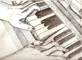 Piano Pointalism by SUPERNICH