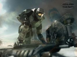 Halo 3 Wallpaper by Bisquikk