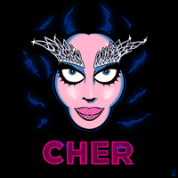Cher: Dressed to Kill [colour sketch] by inkjava